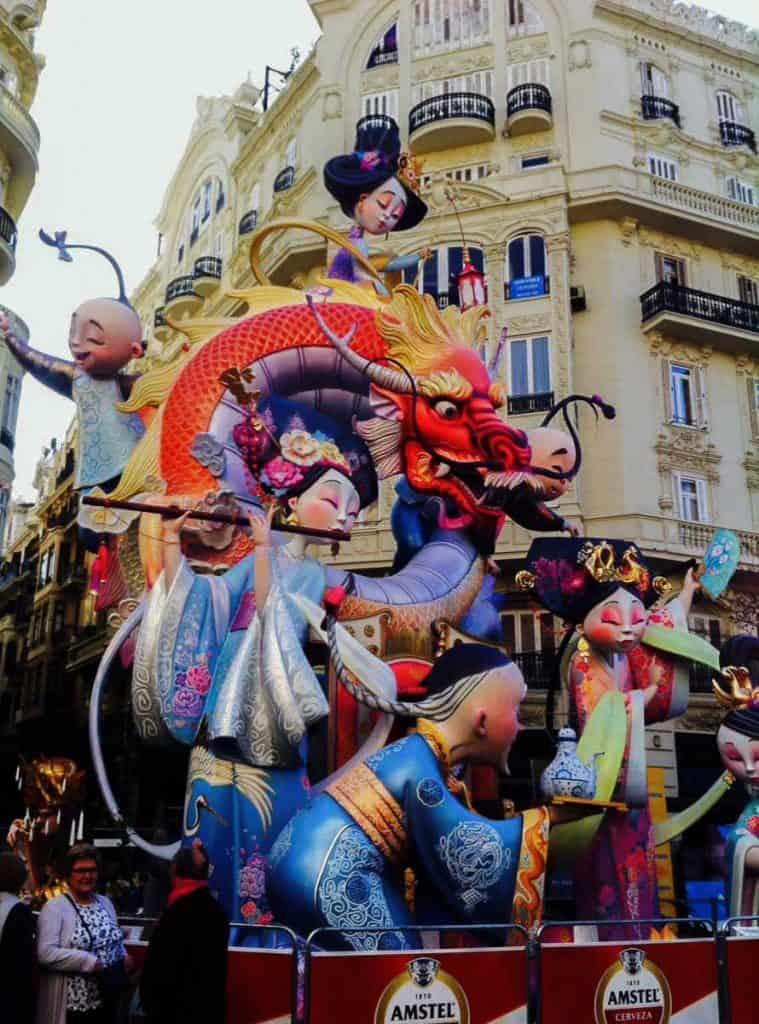 Las Fallas Valencia - Spanish Festivals