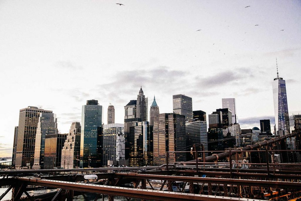 New York Skyline - First Timers NYC Itinerary