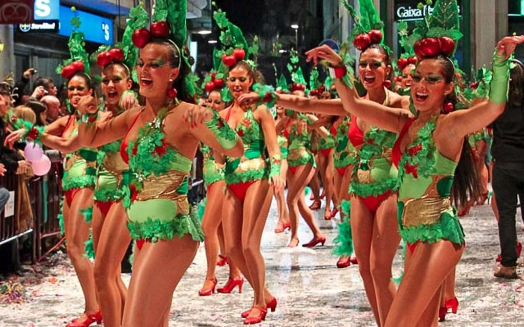 Sitges Carnival - Spanish Festivals