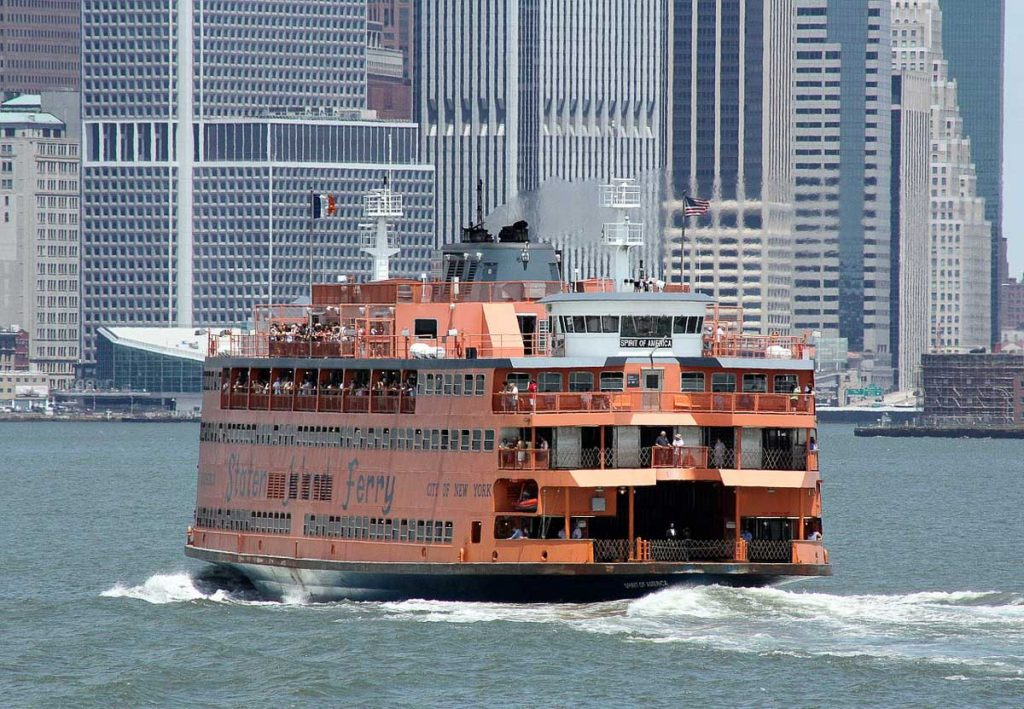 Staten Island Ferry - Four Day NYC Trip