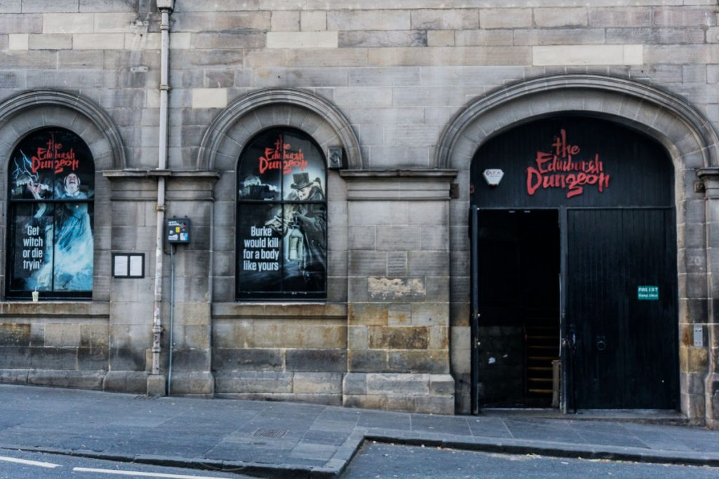 Edinburgh Dungeon Tour