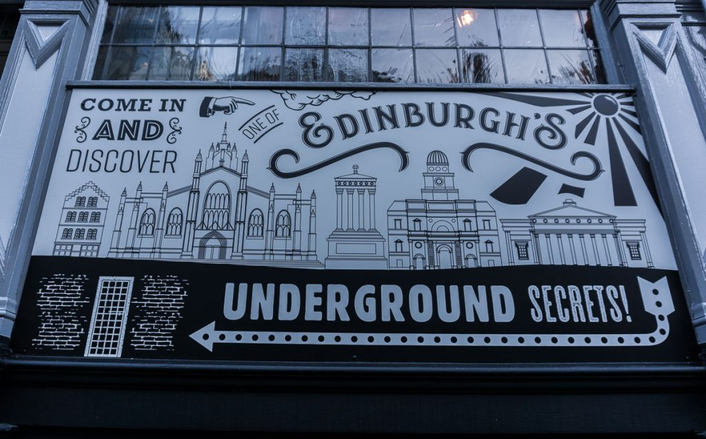 Edinburgh Haunted Vaults Tours