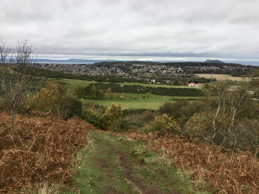Pentland Hills Walk, Edinburgh