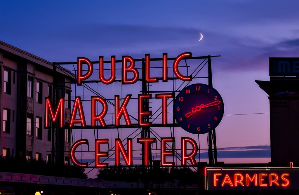 Pike Place Market - One Day in Seattle