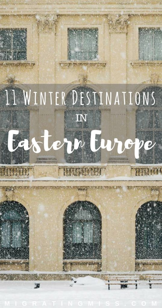 Winter Destinations in Eastern Europe