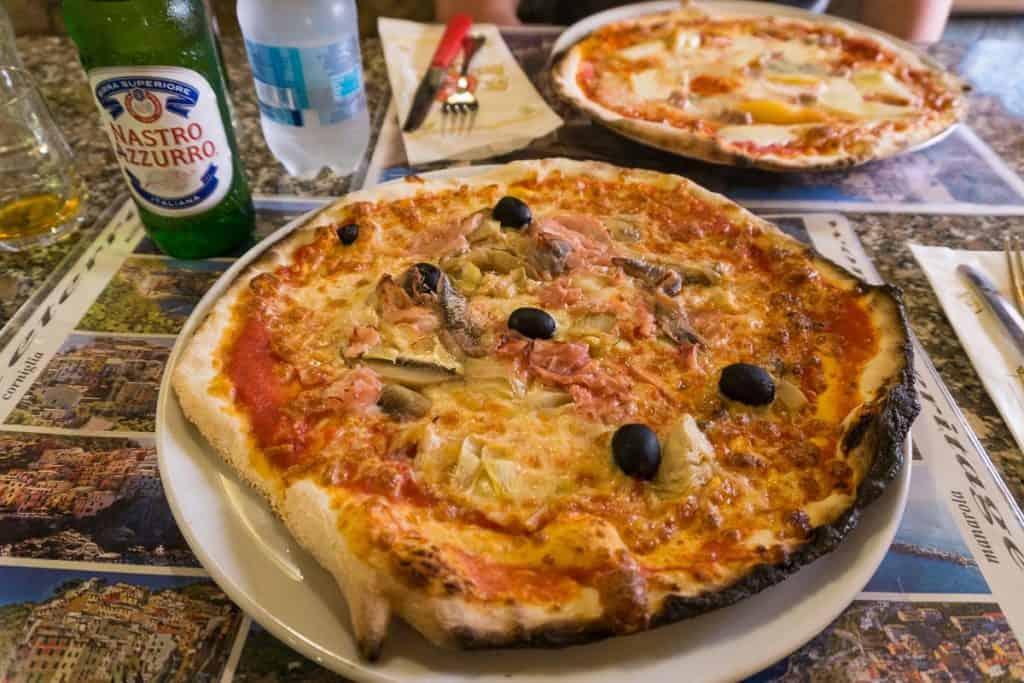 Food in Cinque Terre Italy
