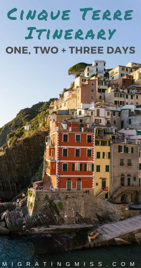 One, Two + Three Day Itineraries for Cinque Terre, Italy