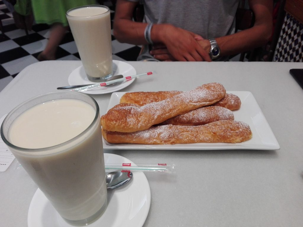 Horchata and fartons, Valencia Spain-2