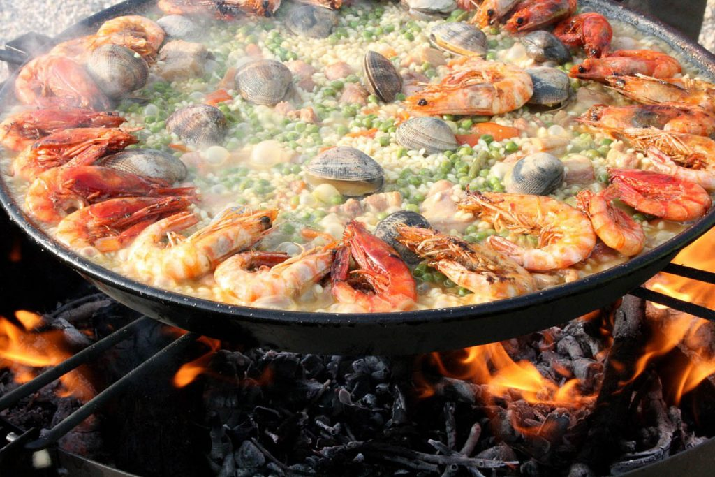 One Day in Valencia, Spain - Paella