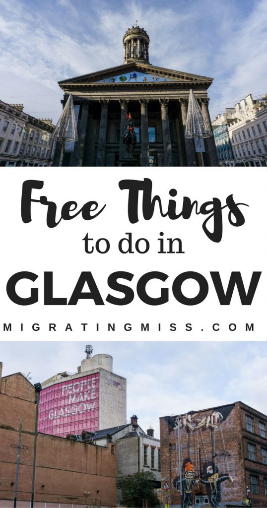 Free Things to Do in Glasgow, Scotland