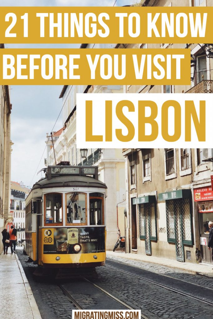 21 Things to Know Before You Visit Lisbon