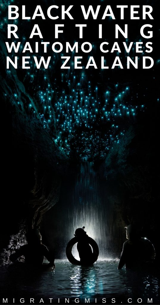 Black Water Rafting at Waitomo Caves, New Zealand
