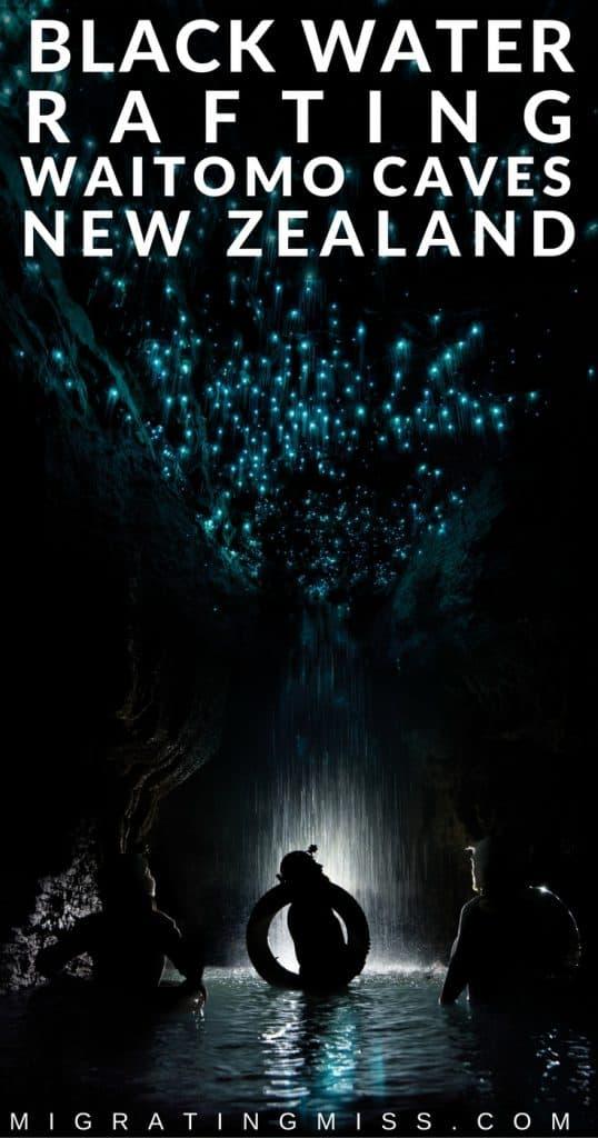 Black Water Rafting at Waitomo Caves, New Zealand