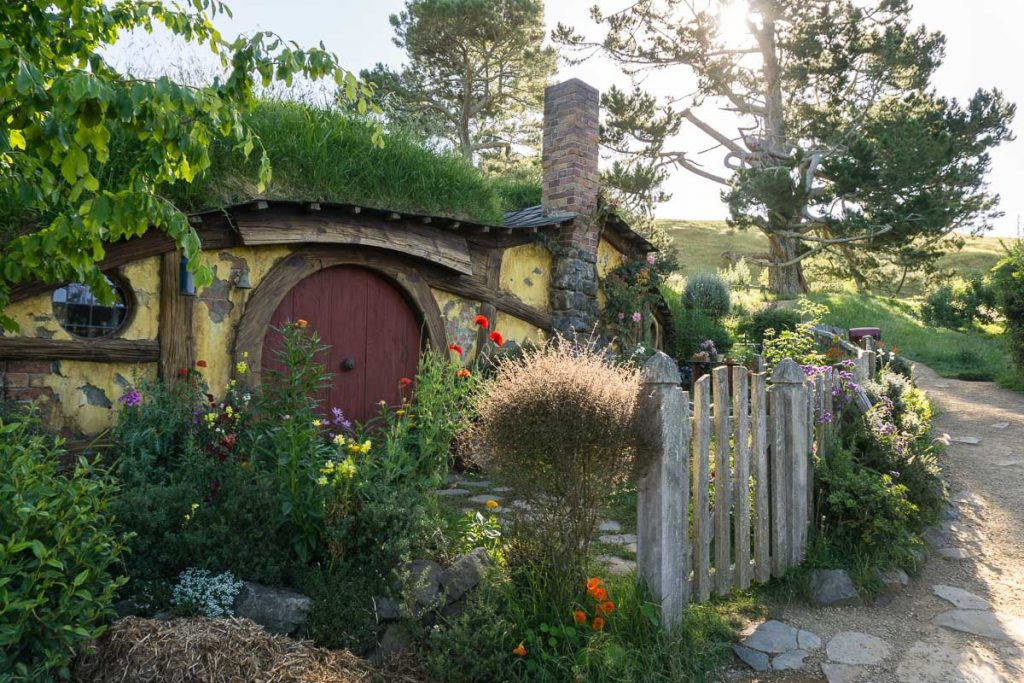 Hobbiton Movie Set NZ