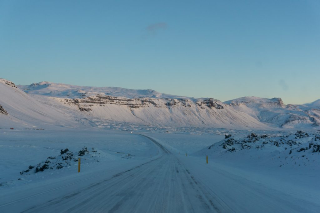 Iceland in winter - Driving in Iceland