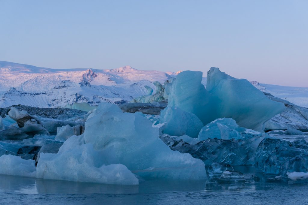 Iceland in winter - Glacier Lagoon