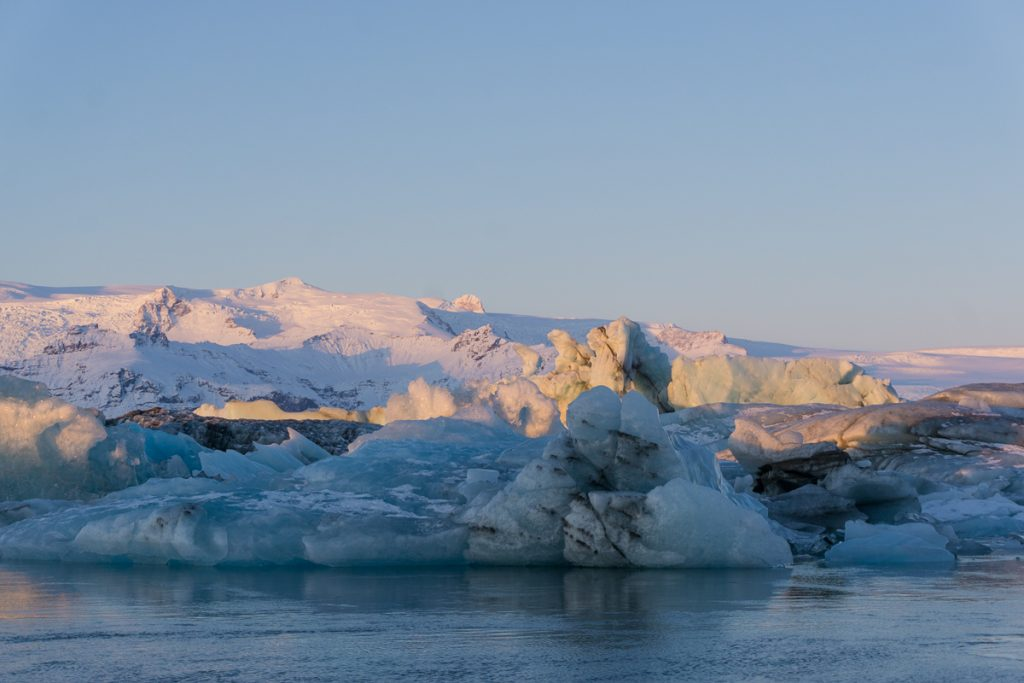 Iceland winter tours: Glacier Walking