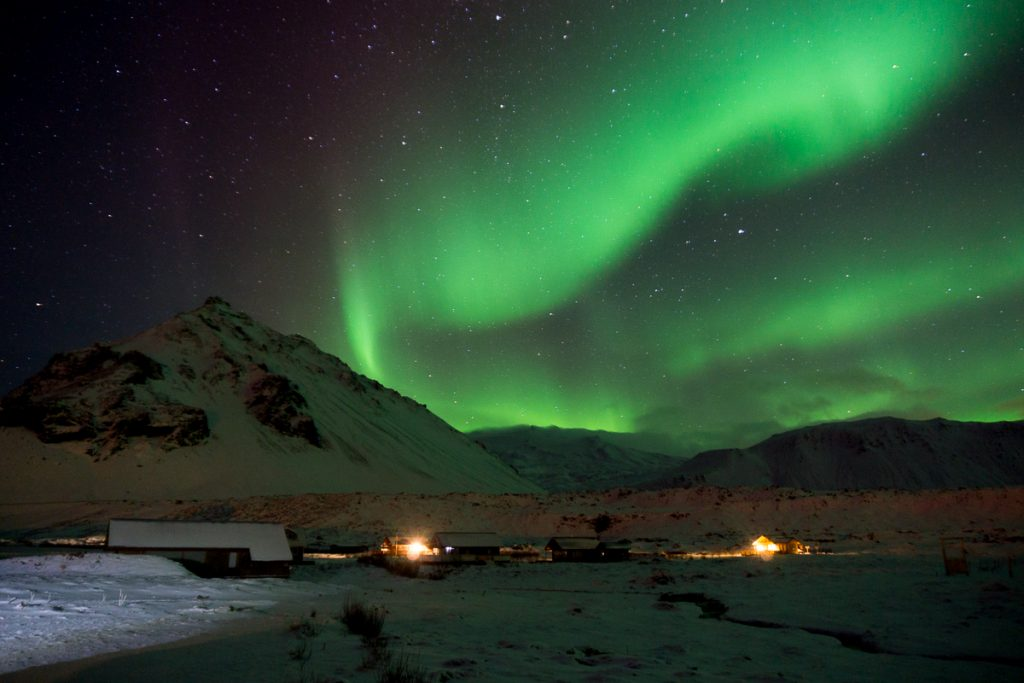 Iceland in winter - The Northern Lights
