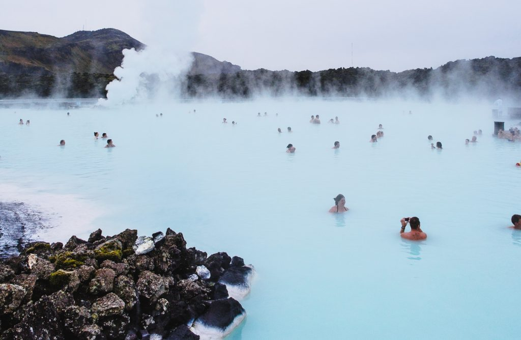 Iceland in winter Blue Lagoon