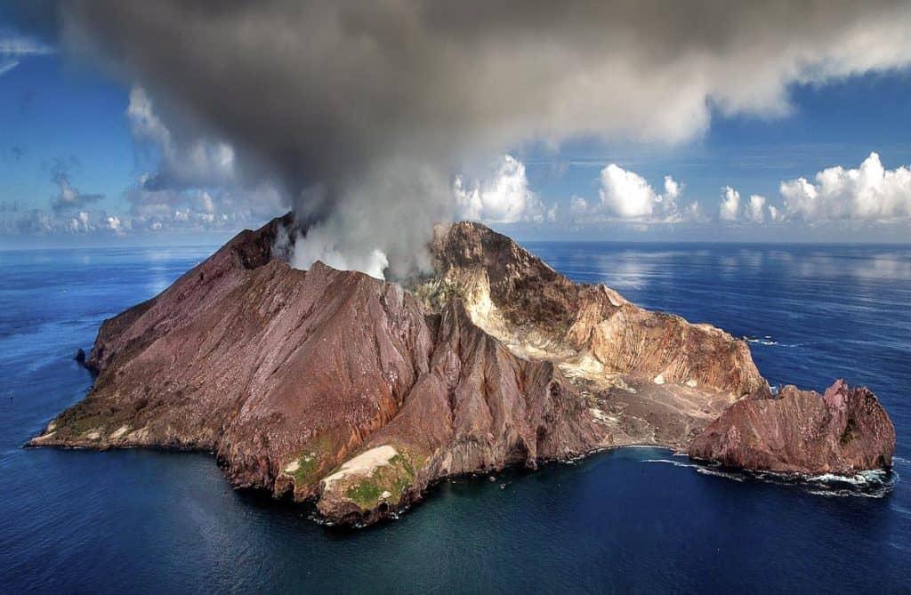 New Zealand Honeymoon Destinations- White Island