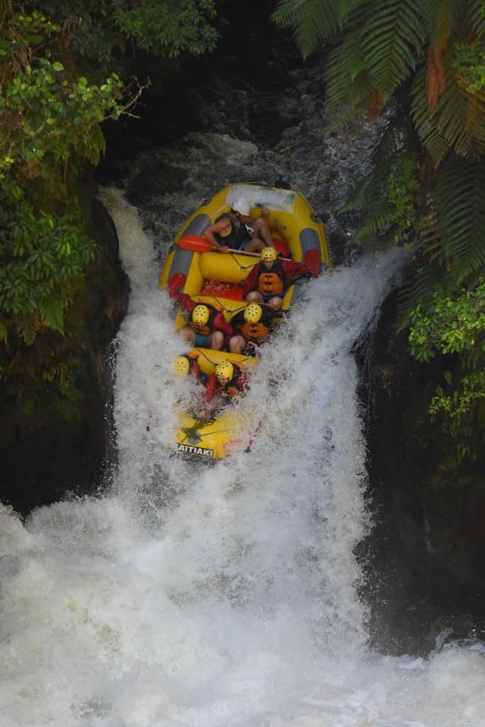 Whitewater rafting Rotorua