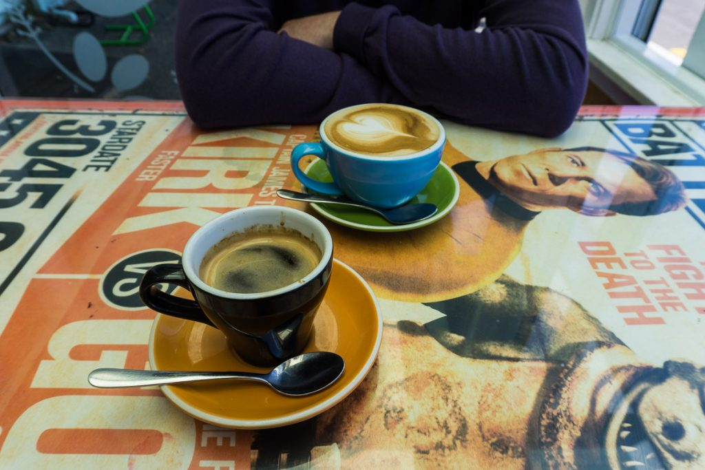 Cafe Culture in Wellington