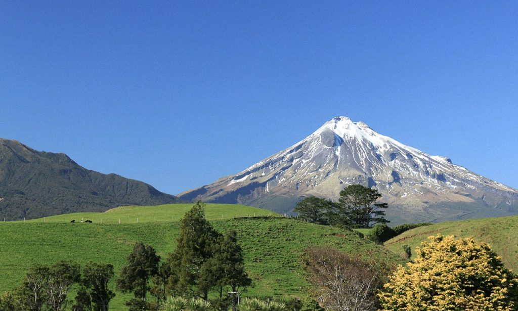 New Zealand North Island Taranaki