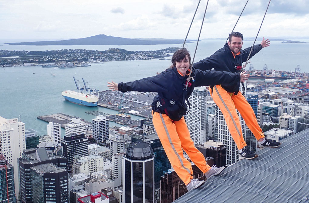 What to do in Auckland in 2 days - Skywalk