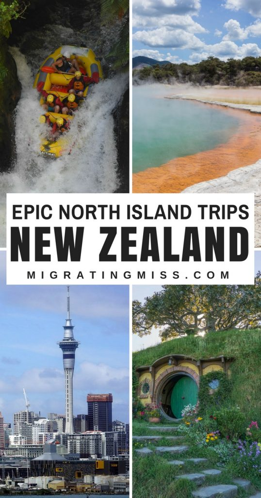 How to Plan a New Zealand North Island Itinerary - All the best places to go, things to do, and epic itinerary ideas for the North Island.