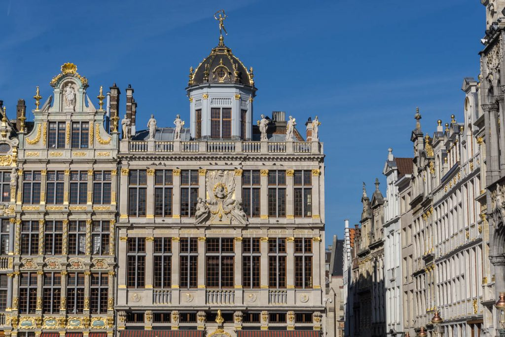 Brussels in winter - Grand Place
