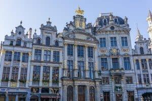 Brussels in winter