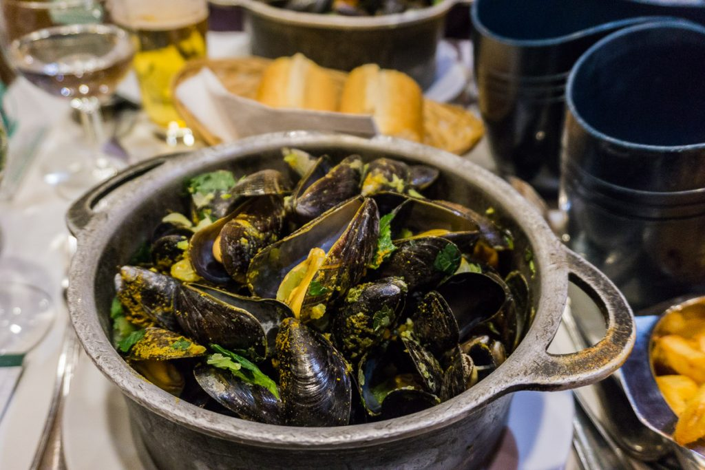 Brussels in winter - Mussels