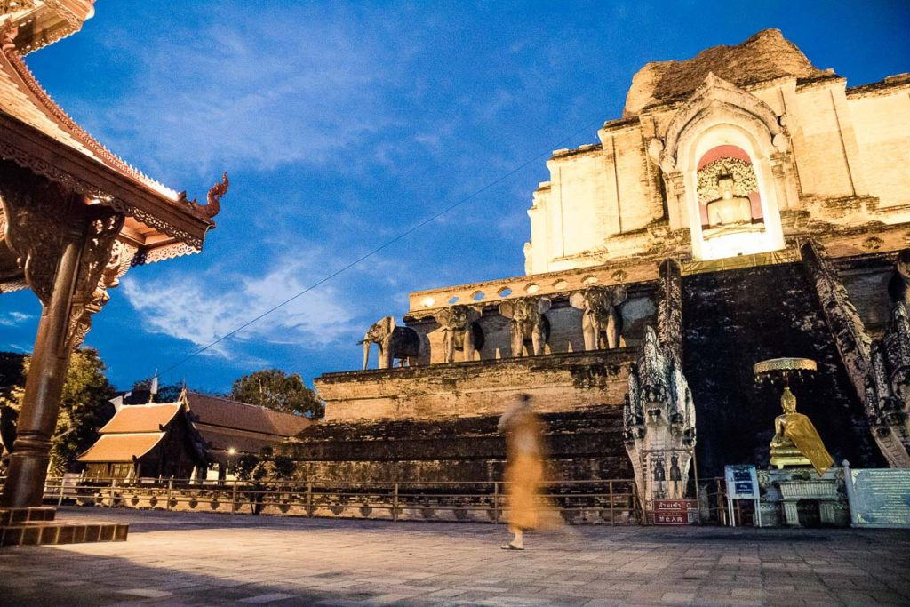 Day 1 - The ruins of Wat Chedi Luang in Chiang Mai - Thailand