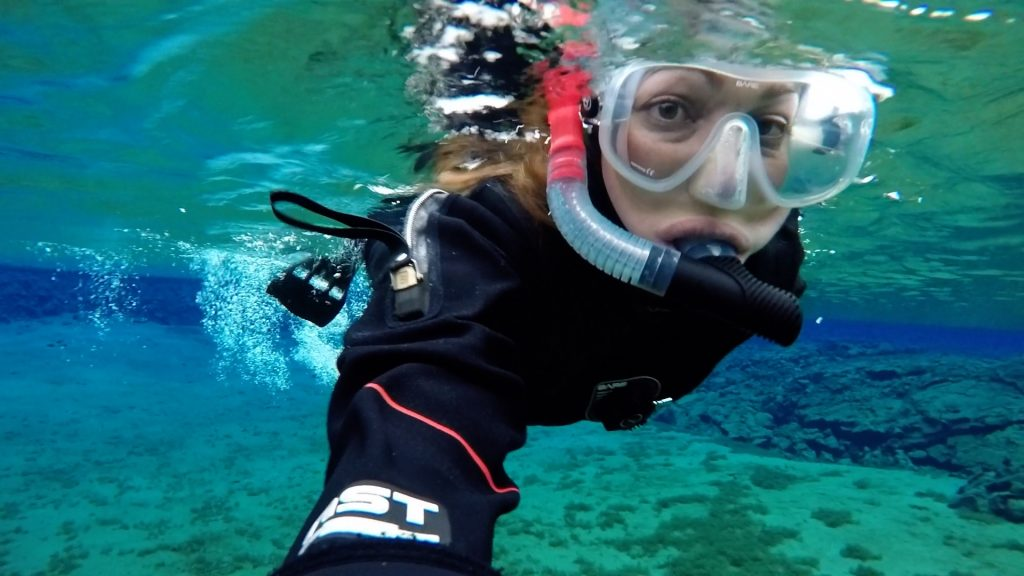 Iceland in November: Snorkelling at Silfra