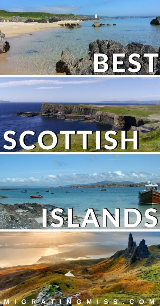 The Best Scottish Islands - All you need to know to plan your a trip to the beautiful islands of Scotland!