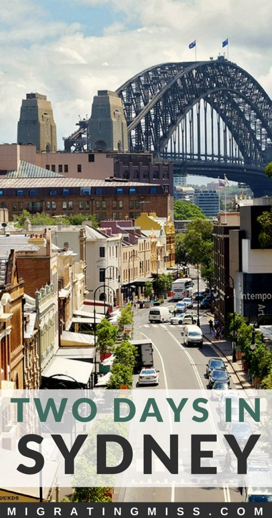 How to Spend 2 Days in Sydney - What to do for two days in one of Australia's best cities. Top things to do, where to stay, and what to eat!