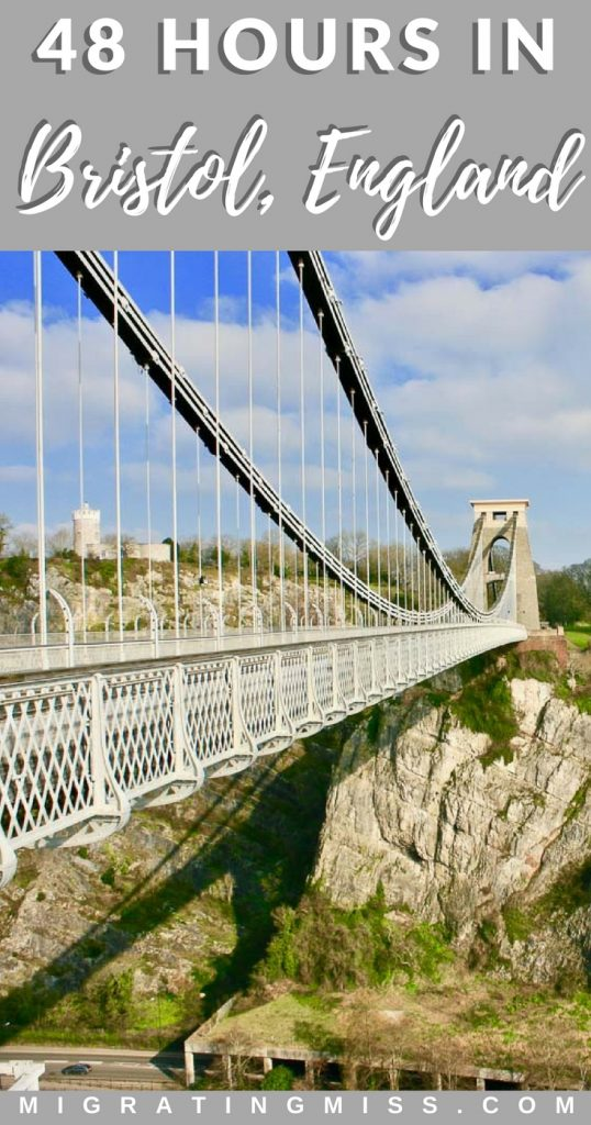 Top things to do when you have 2 days in Bristol, England, plus where to stay, what to eat, and how to get there!