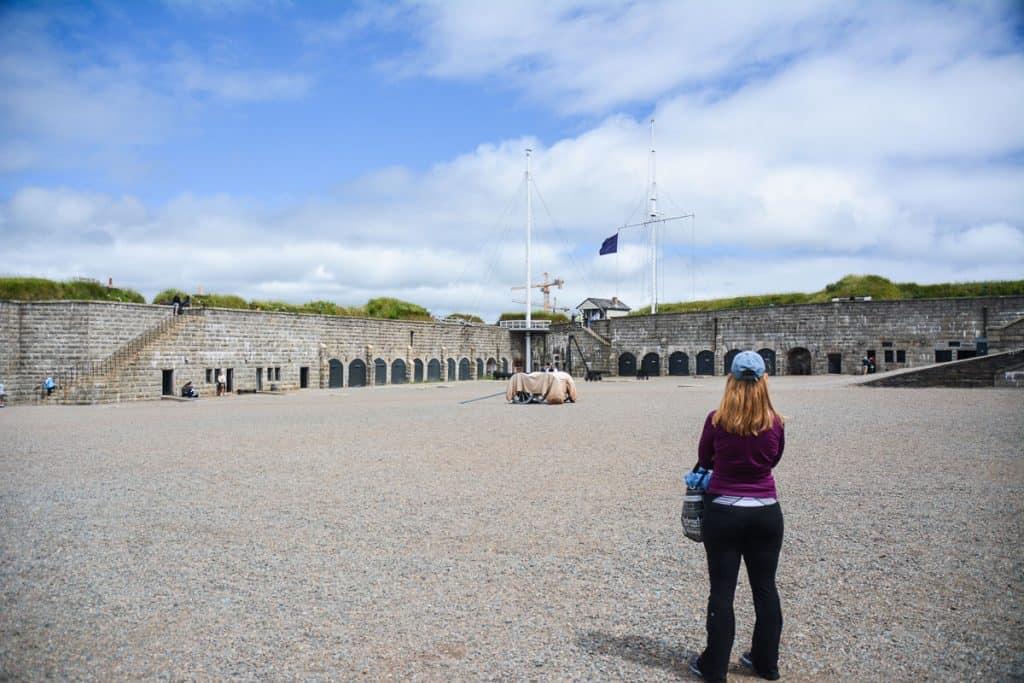 Sightseeing in Halifax Nova Scotia - Citadel