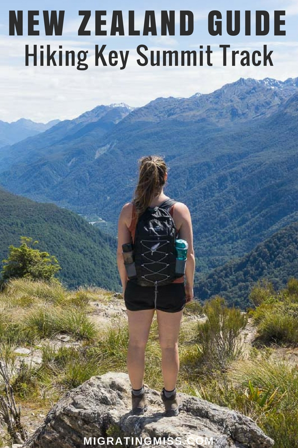 A guide to hiking the Key Summit Track in Fiordland, New Zealand. Do the Key Summit walk on your way to Milford Sound!