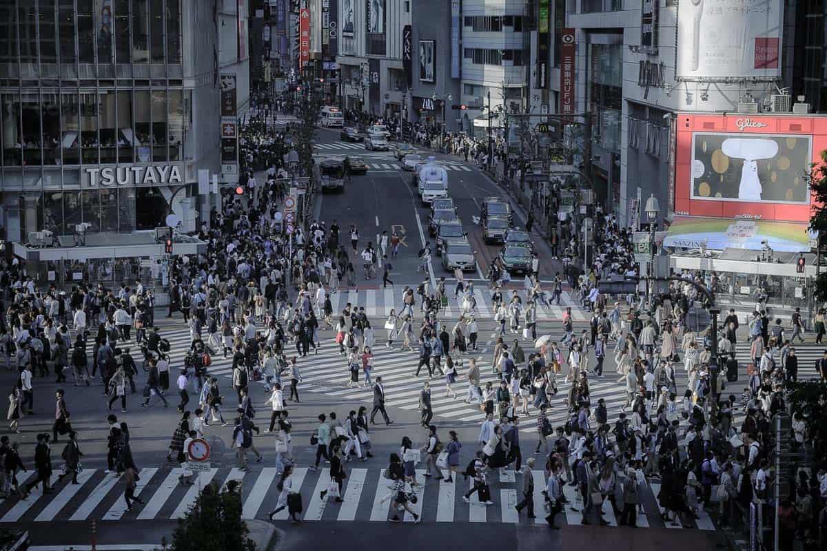 tokyo befolkning