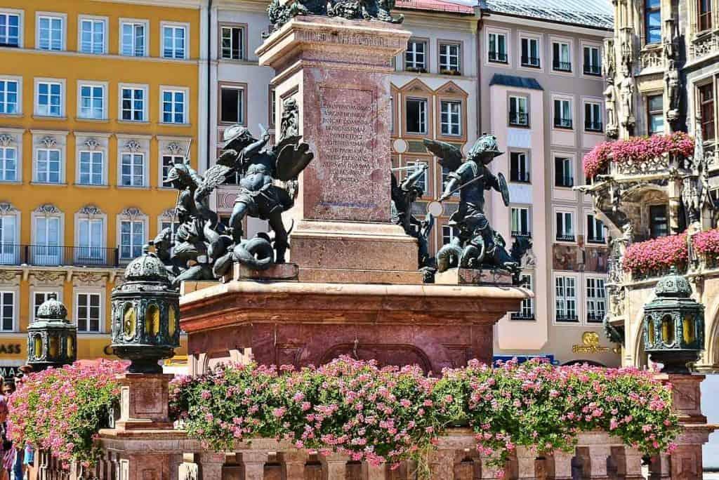 Two Days in Munich - Marianplatz