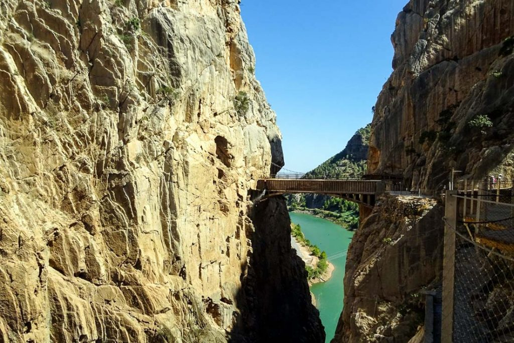 Caminito del rey - Beautiful Places in Spain