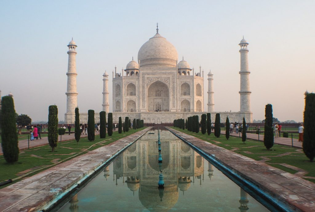 Taj Mahal - Most Beautiful Places in India