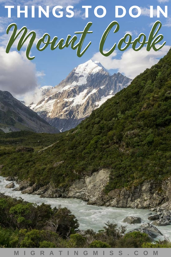 Visiting Mount Cook should definitely be on your New Zealand itinerary! What better place to explore the mountainous terrain and see one of the most beautiful places in New Zealand? Use this list of things to do in Mount Cook to help plan your New Zealand trip!