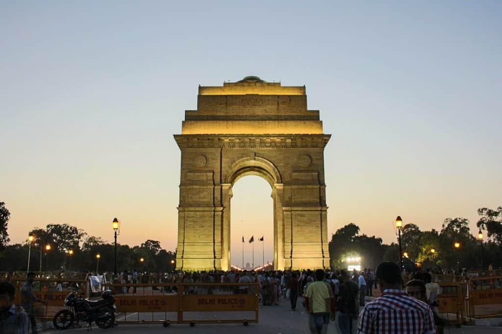 2 days in Delhi - India Gate