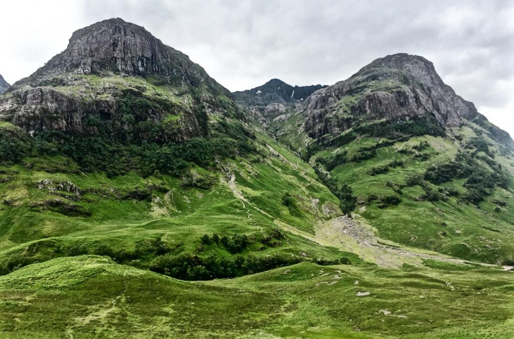 Edinburgh to Glencoe by car