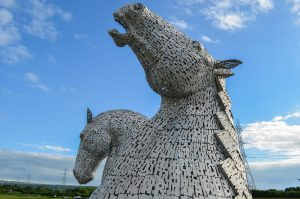 Stirling with Kids - Falkirk Kelpies