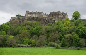 Stirling Castle from below - Things to Do in Stirling with Kids