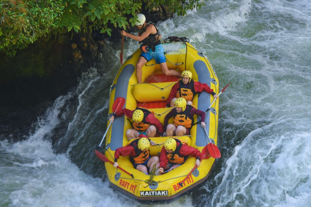 Things to do in Rotorua - White Water Rafting Kaitiaki Adventures