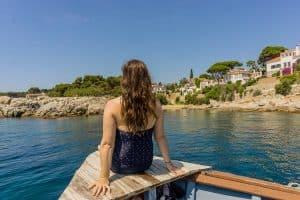 Costa Brava Boat Trip Pregnant